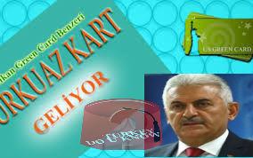 البطاقة التركوازية التركية